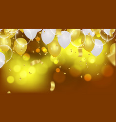 abstract background with bokeh effect and vector image