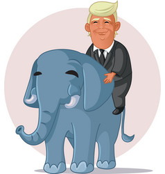 Donald trump edutorial use only vector