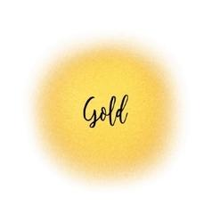 Golden spray dot particles airbrush vector