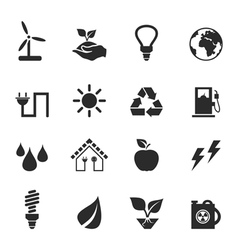 Icon ecology2 vector