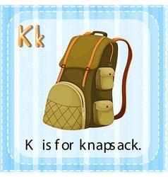 Knapsack vector