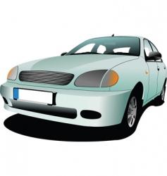 motor car vector image