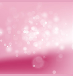 pink abstract bokeh background eps 10 vector image