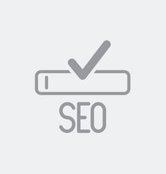 seo optimization services icon vector image