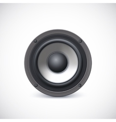 Speaker isolated vector image