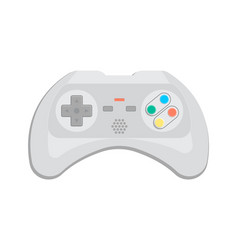 electronic device for video game icon vector image