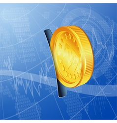 Financial Concept vector image vector image