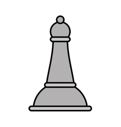 chess piece isolated icon vector image