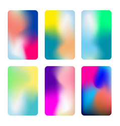 Abstract colorful vertical backgrounds vivid vector