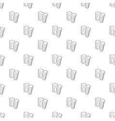 double building pattern seamless vector image