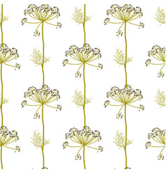 Floral seamless pattern traditional style vector