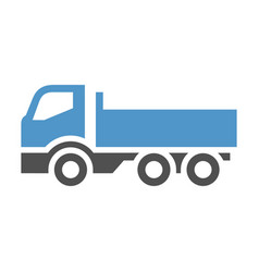 freight transport icon vector image vector image