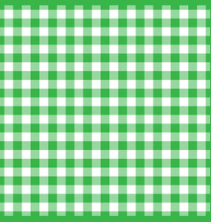 Lumberjack plaid pattern in green and black vector