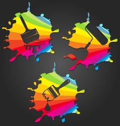 Symbol painter vector