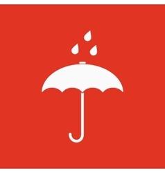 The umbrella bag icon Rain protection symbol vector image