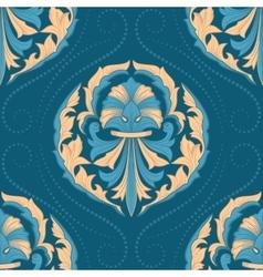 Seamless oriental wallpaper vector image