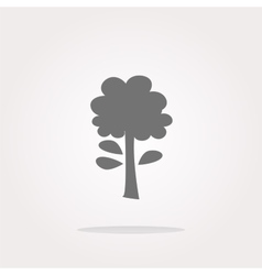 tree Icon tree Icon tree Icon Art tree vector image