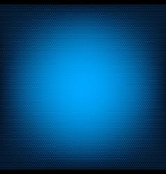 Blue honeycomb texture vector image