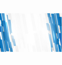 abstract blue rectangles geometric motion vector image