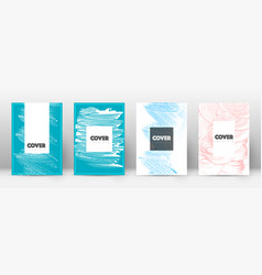 cover page design template hipster brochure layou vector image