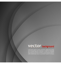Dark gray elegant business background vector image