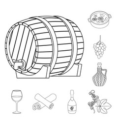 drink and manufacturing vector image