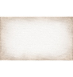 Horizontal beige canvas to use as grunge vector