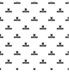 Machete pattern seamless vector