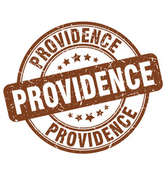 Providence stamp vector
