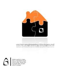 Set of buildings design vector