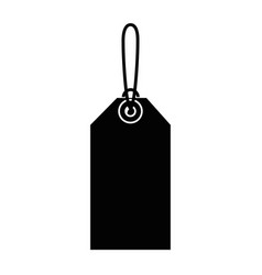 shopping tag isolated icon vector image