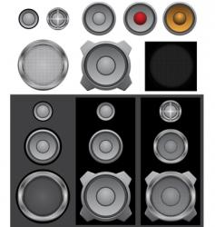 speaker basic vector image