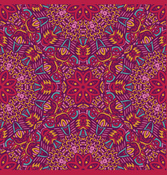 Tribal indian ethnic seamless design vector