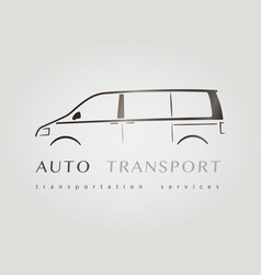 template of identity for car company vector image vector image