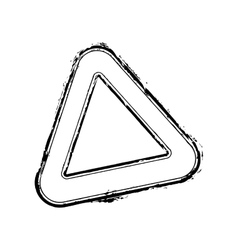 Triangle Stamp vector image vector image