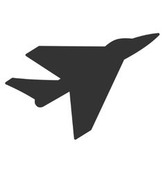 Intercepter Flat Icon vector image