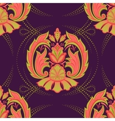 Seamless oriental wallpaper2 vector image