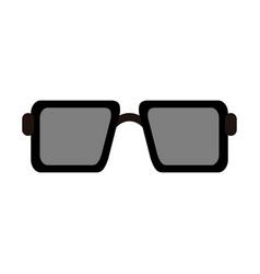 square sunglasses icon image vector image vector image