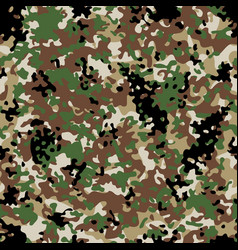 Arid flectarn camouflage seamless patterns vector
