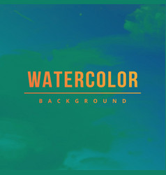 Bright watercolor background vector