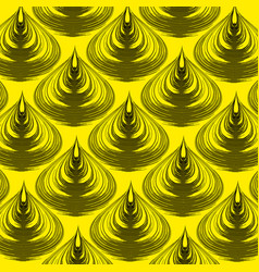 continuous audio wave background new digital vector image