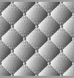 Quilted knitwear seamless pattern decorative vector