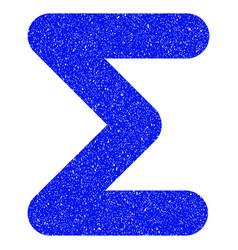 Sum grunge icon vector