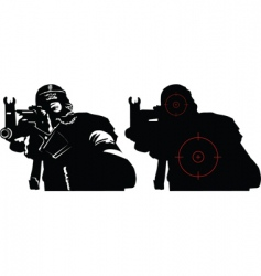 terror vector image vector image