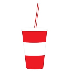 Disposable cup vector image vector image