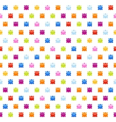 seamless background pattern with stars vector image vector image