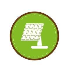 solar panel renewable energy alternative green vector image vector image