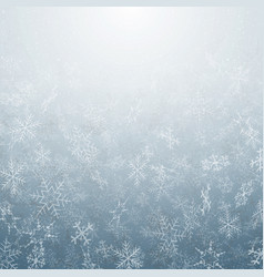 abstract of christmas snowflakes movement pattern vector image