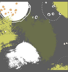 Abstract online grunge hand drawn decoration vector
