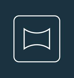 Angle icon line symbol premium quality isolated vector
